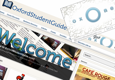 Oxford Student Guide and the Oxone Card - Online student portal and offline discount card product