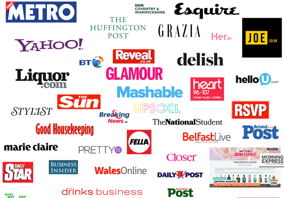 Examples of PR achieved by companies I have worked with