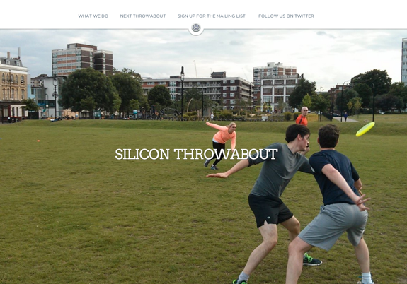 Silicon Throwabout - Weekly Startup Ultimate frisbee game
